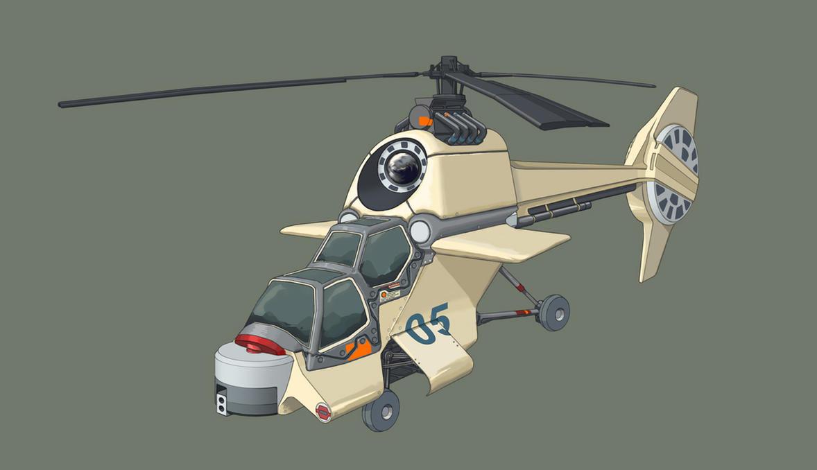 RH-31 Vulture by Pyrosity
