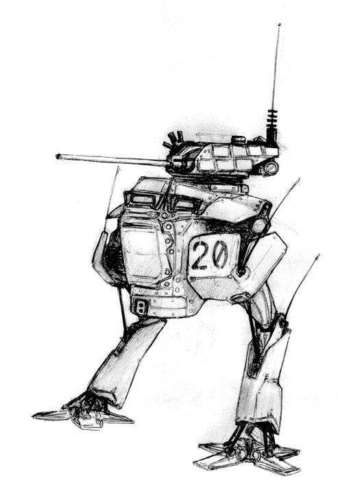 AMWV-8 'Pug Scorpion' by Pyrosity