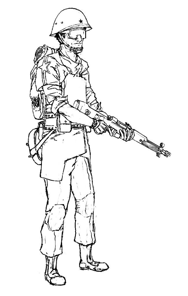 Slavik Rifleman by Pyrosity