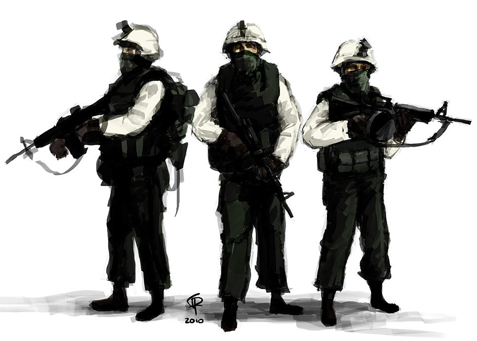 Western Infantry by Pyrosity