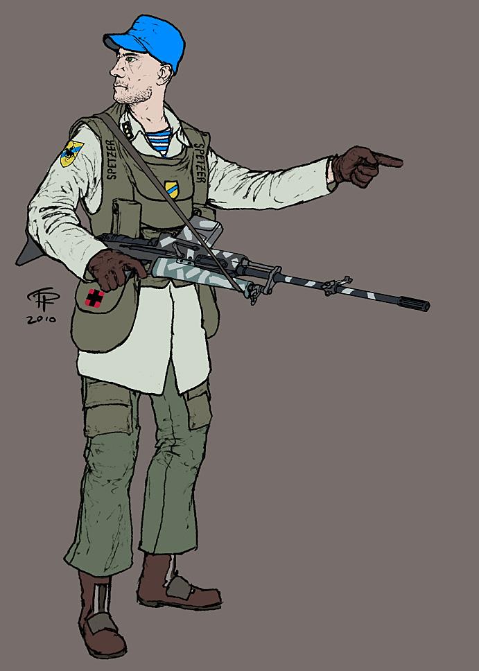 Coalition Dragoon by Pyrosity