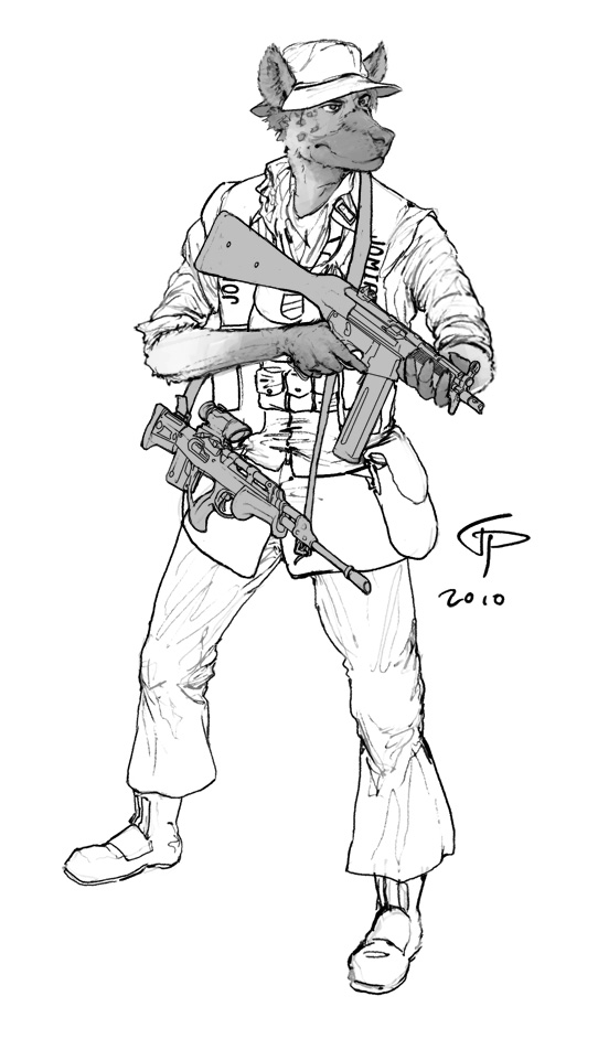 Lt. Jomiro by Pyrosity