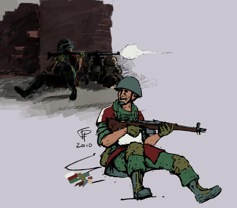 Coalition Soviet sketches by Pyrosity