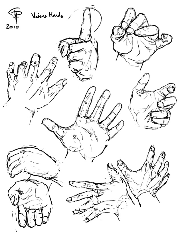 Some hands by Pyrosity