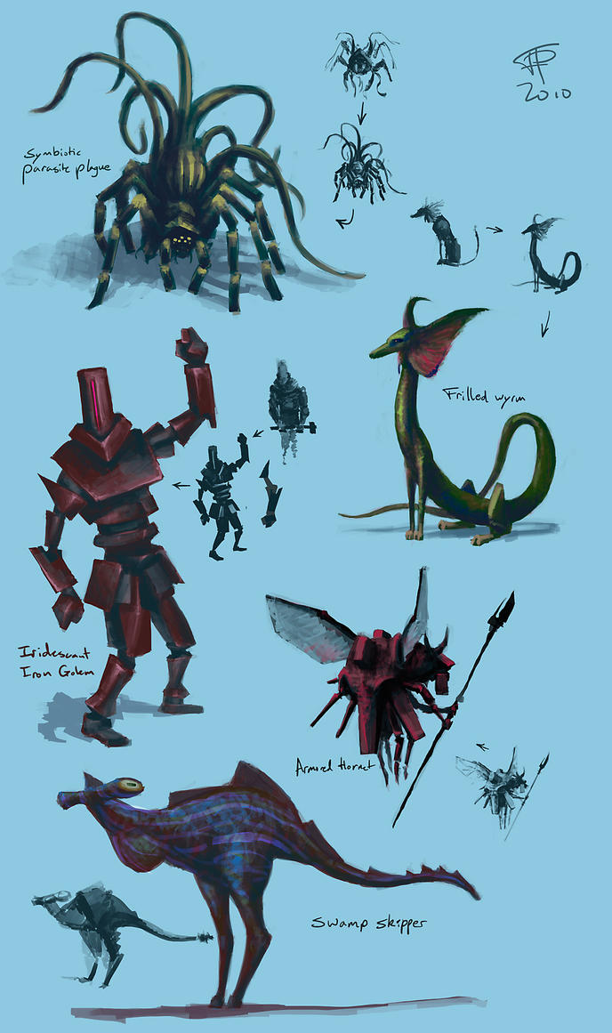 5 Fantastic Creatures by Pyrosity