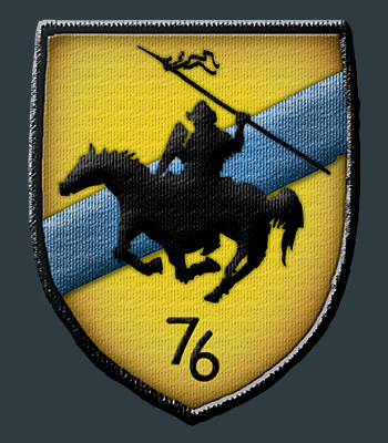 76th Dragoons badge by Pyrosity