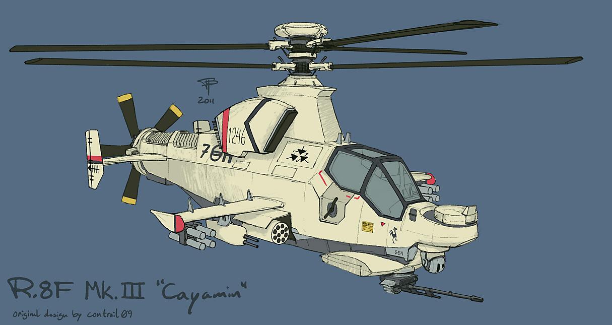 R.8F Mk. III Cayamin by Pyrosity