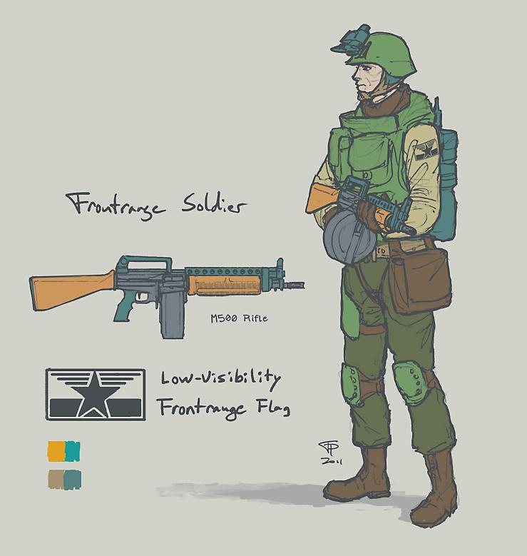 Frontrange Soldier by Pyrosity