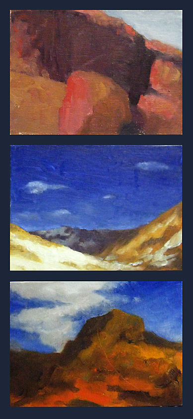 Landscape painting studies 2 by Pyrosity