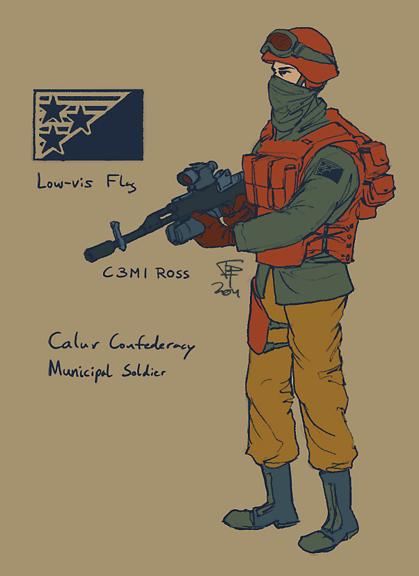 Caluran Municipal Troop by Pyrosity