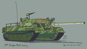 Type 101 Tank Destroyer by Pyrosity