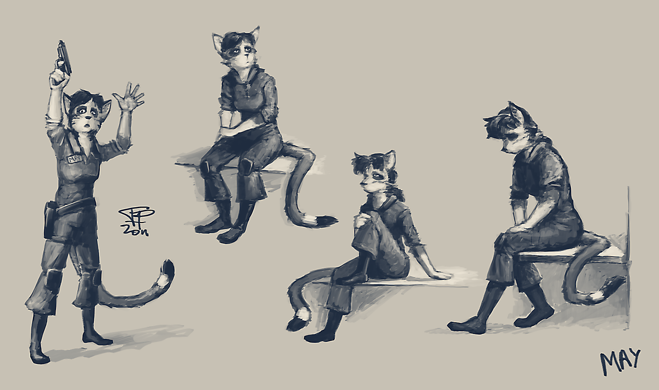 May Sketches by Pyrosity