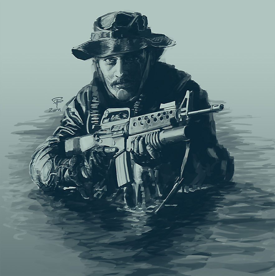Navy SEAL by Pyrosity