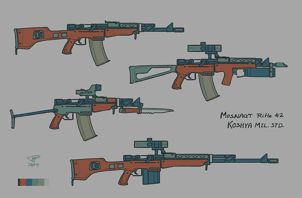 MOSNAGT Rifle No.2 by Pyrosity