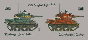 M5 Shepard Light Tank