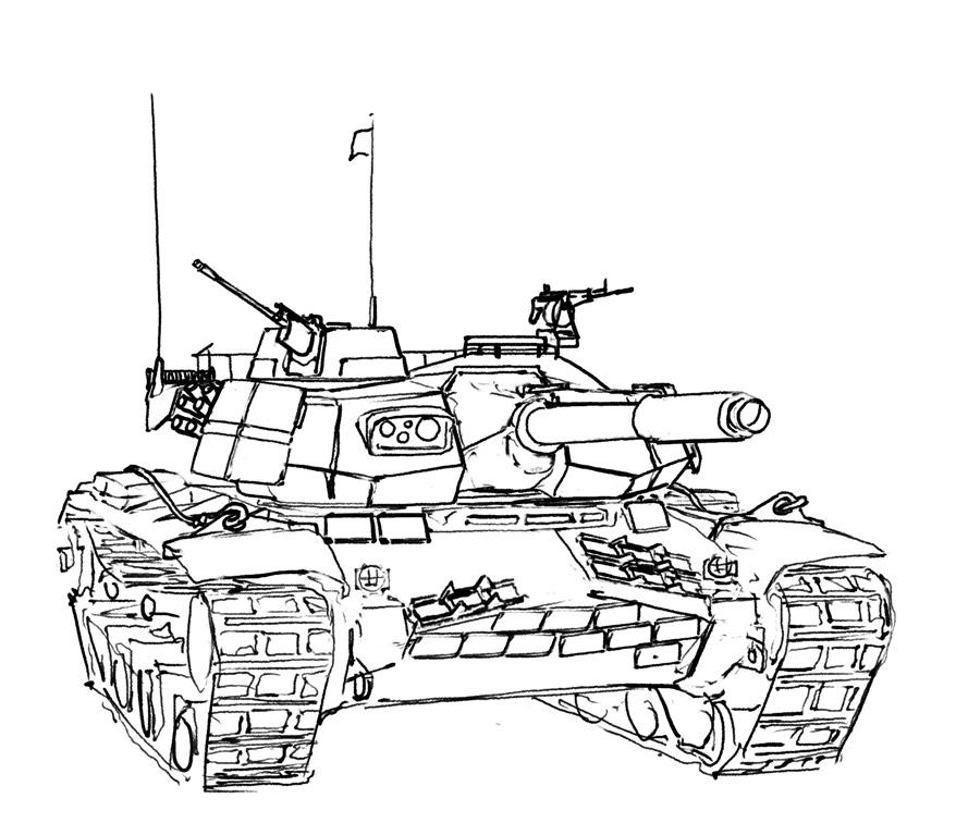 Type-117 Heavy Tank by Pyrosity