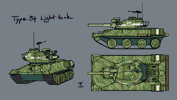 Type 34 Light Tank