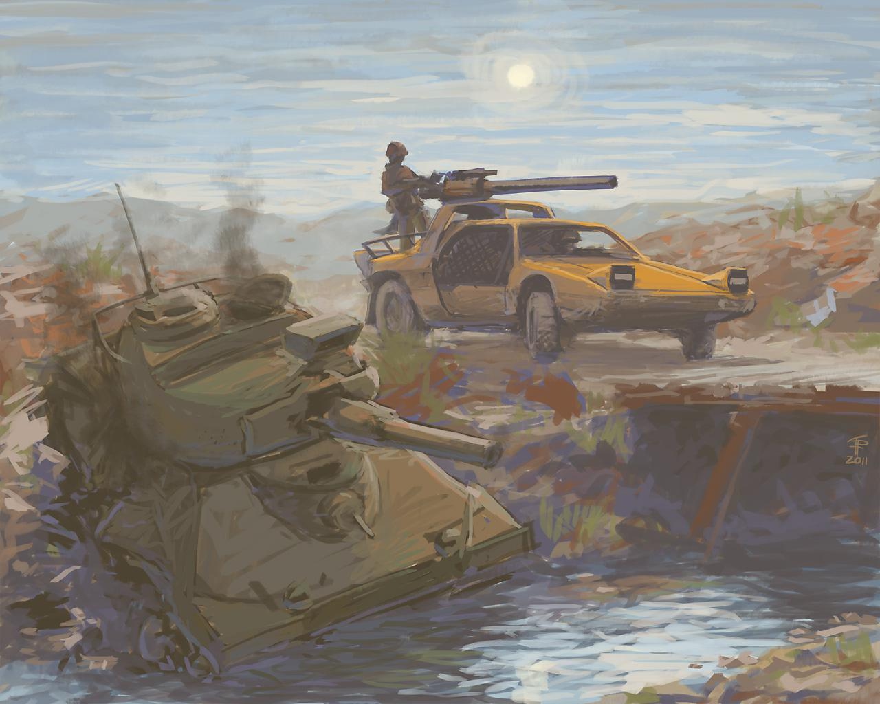 Tank Hunter by Pyrosity