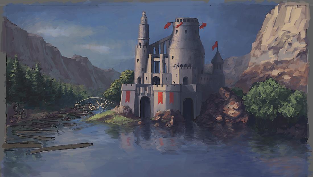 Castle Wip2 by Pyrosity