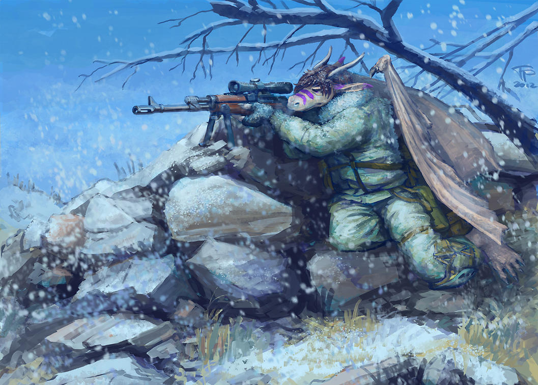 Commission - Sniper Subito by Pyrosity