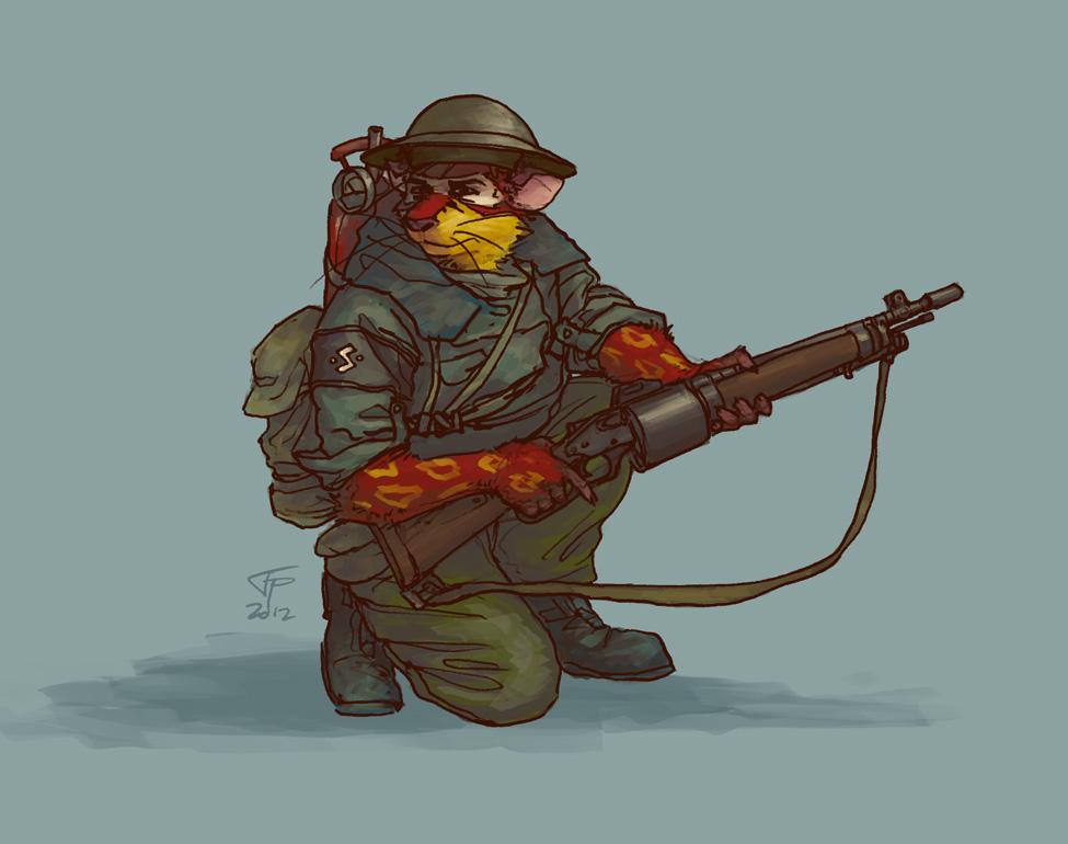 Tunnel rat by Pyrosity