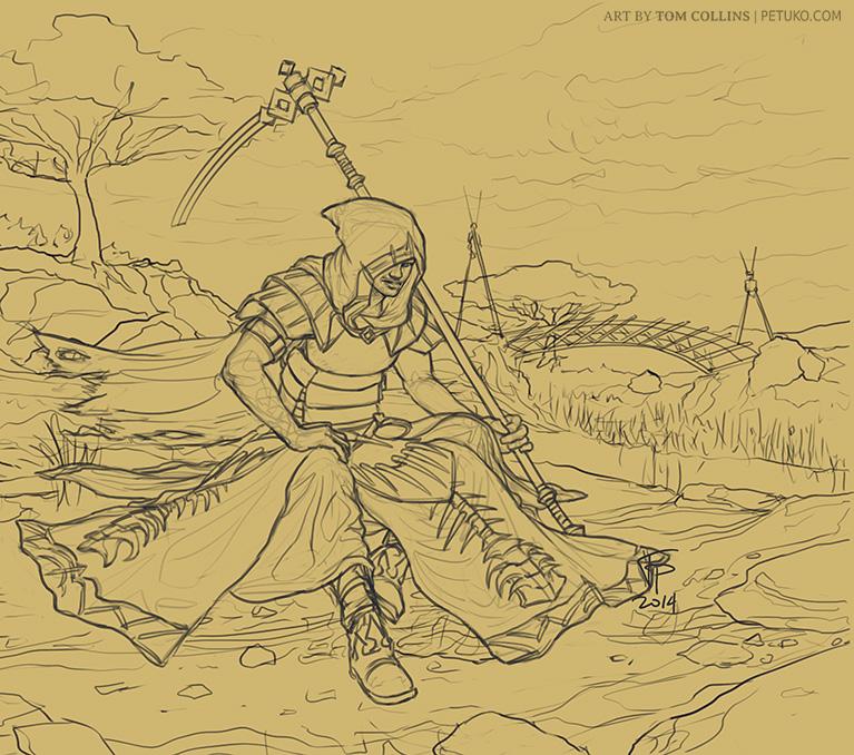 Pyre (sketch) by Pyrosity