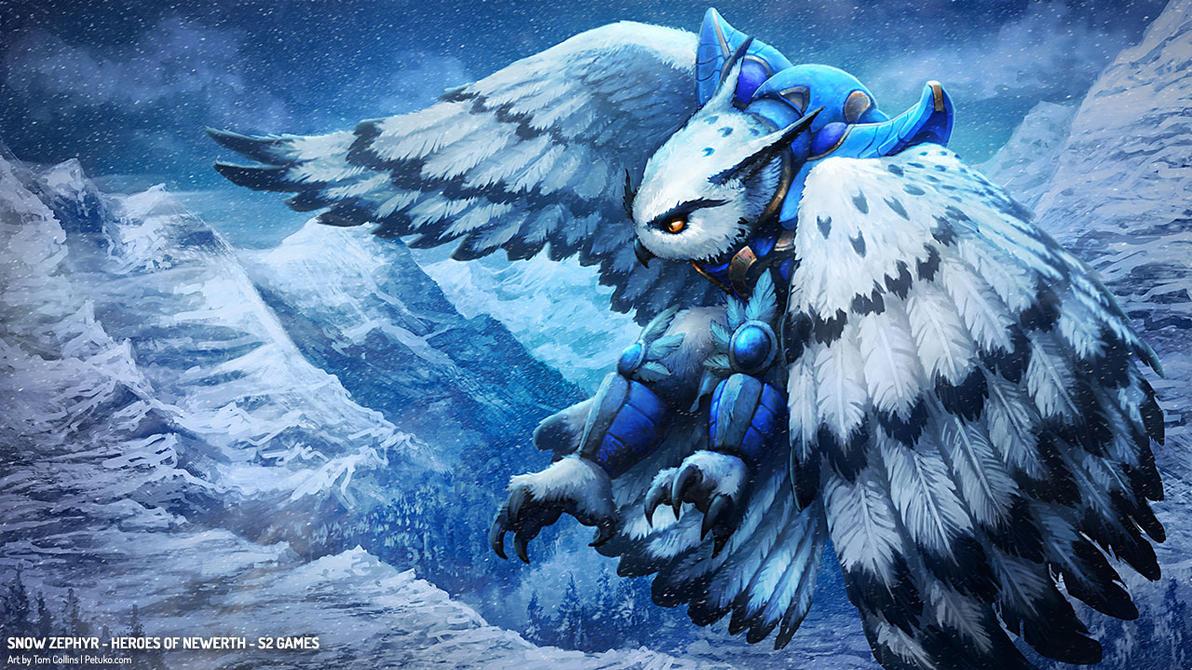 HoN: Snow Zephyr by Pyrosity