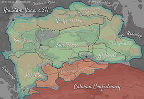 Regional Map - Rrustam Vana by Pyrosity