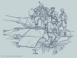 Tank Crew by Pyrosity