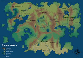 Map Commission - Aphrodia (Physical)