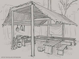 Commission - Mess Tent