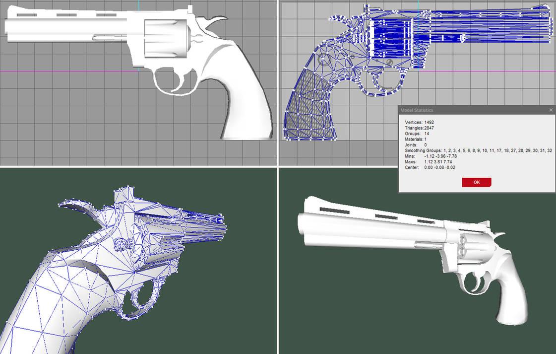 Colt Python  357 -Fin- by Pyrosity on DeviantArt