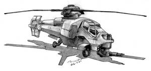 ADA 'Claymore' VTOL-6 by Pyrosity
