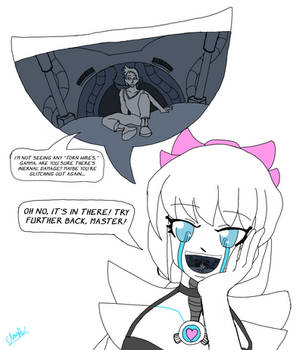 Gamma: Tasting her master