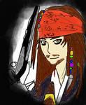 Jack Sparrow Anime style