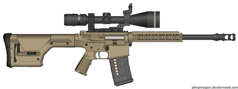 Remington M110 Semi-Automatic  M110 Semi Automatic Sniper System