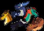 Dragonets of Destiny by LordMaddie