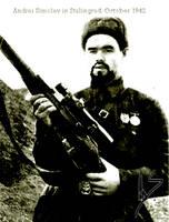 Me, in Stalingrad 1942 by Deio-Kamots