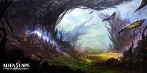AlienScape: The Dreamcatchers by Ultragriffy