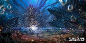 AlienScape: Dark Strain by Ultragriffy