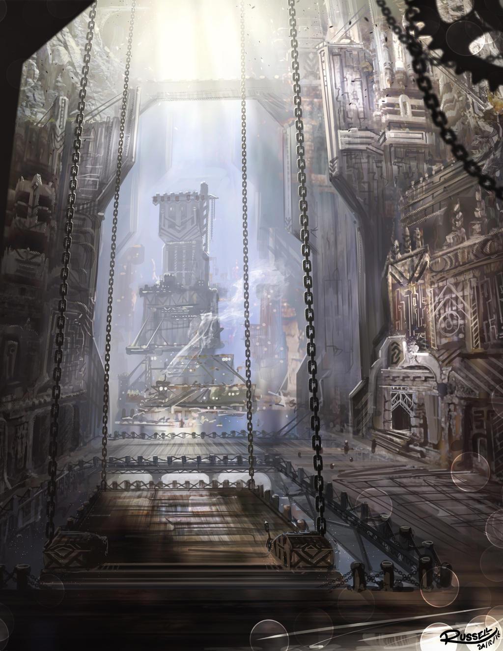 Dwarven City By Ultragriffy On Deviantart