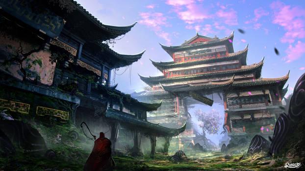 Dystopian Pagoda