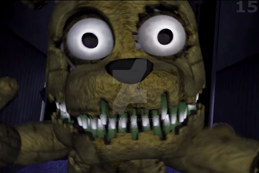 plushtrap jumpscare by locuasm on deviantart