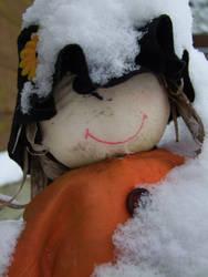 little snow people by ho-mono