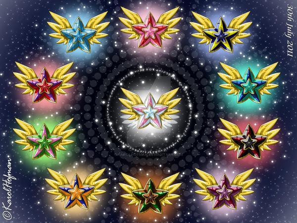 Eternal Stars of Sailor Senshi by KarolHofman