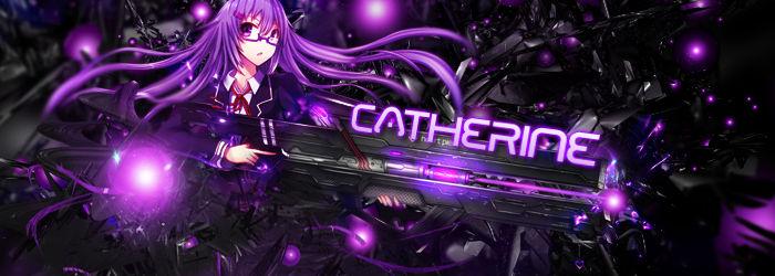 Catherine Sig Purple