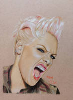 P!nk by Sabine-S-Art