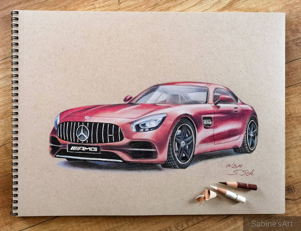 Mercedes Amg Gt R By Sabine S Art On Deviantart