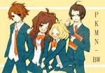 Pokemon BW - School Uniforms