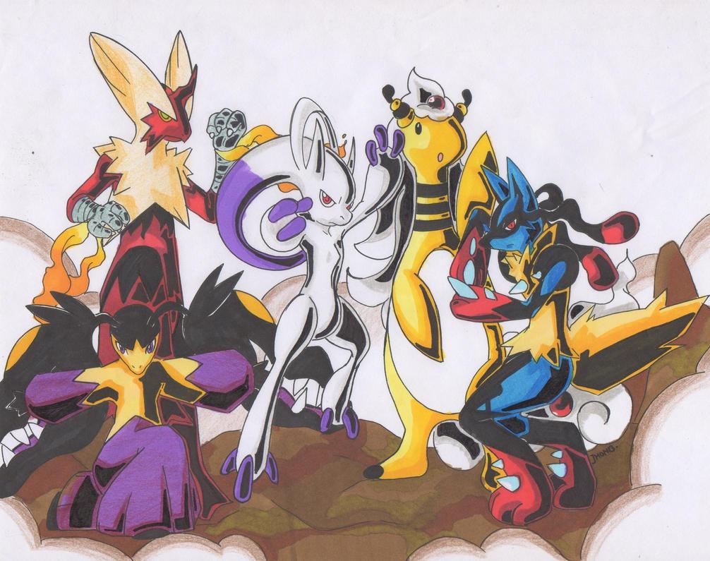 Mega Evolution Pokemo in Super Sentai by jhonbanhart on ...
